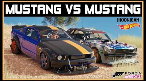 mustang horizon forza horizon 3 hoonigan vs wheels mustang vs