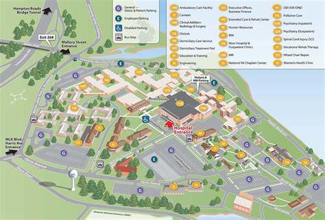 Facility Map   Hampton VA Medical Center