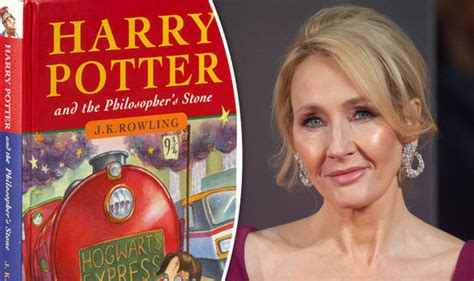 j k rowling on harry potter rare 1st edition harry potter book given jk rowling s