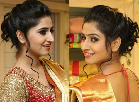 hairstyles at home for saree hairstyles for long hair 39 indian makeup and beauty
