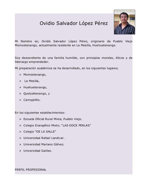 Modelo De Carta De Presentaci N De Un Curriculum ejemplo de una carta de presentaci 243 n