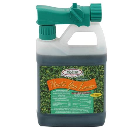 Top Medina Oz medina 32 oz hastagro 12 4 8 liquid lawn food plus 100046955 the home depot
