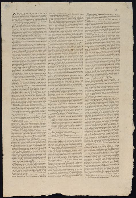 Sections Of The Us Constitution by The Constitution Of The United States Carolina