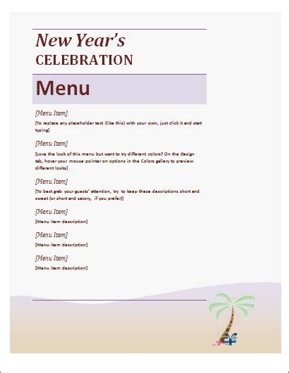 garden new year menu 2015 new year celebration menu 28 images new year