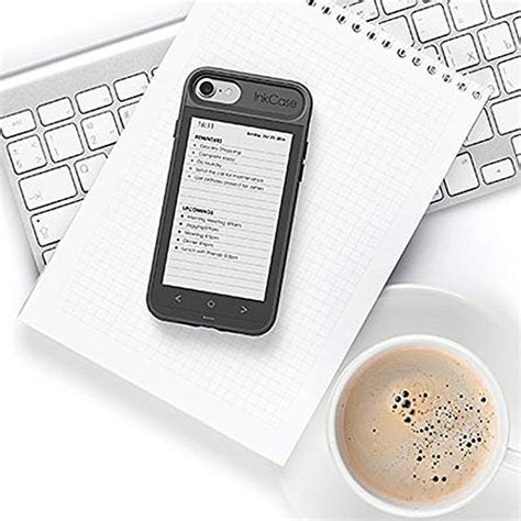 oaxis inkcase i7 4 3 quot e ink ereader for iphone 7 8 6s 6 unique smart bluetooth second