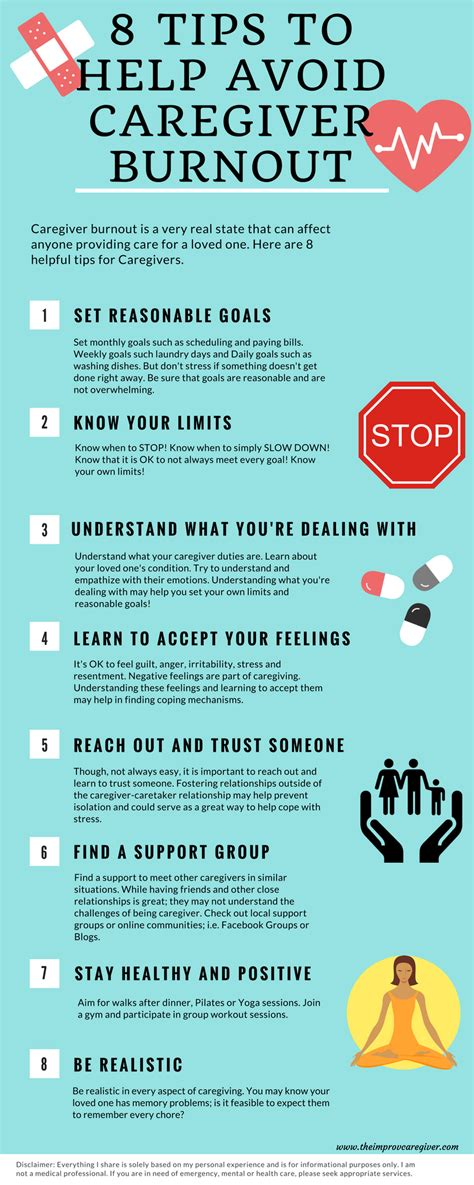8 Tips To Avoid Ins by 8 Tips To Avoid Caregiver Burnout Caregiver Dementia