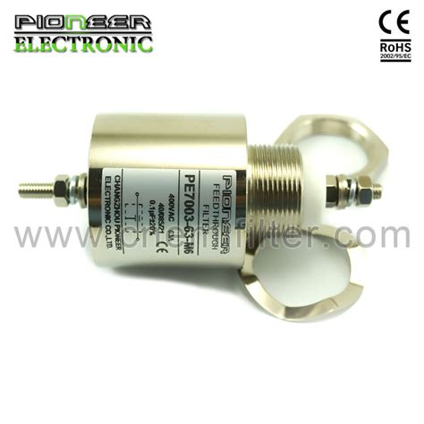 emi filter capacitor type ac emi feedthrough filters and capacitor rohs compliance buy feedthrough filters emi