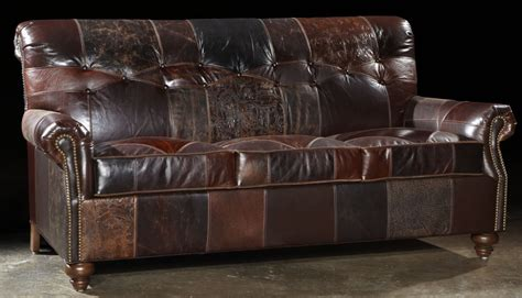 Patch Leather Sofa with Leather Patches Sofa Usa Made Great Looking And Great Price