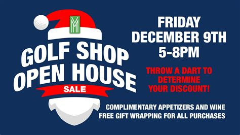 open house pro mountain falls golf club golf pro shop open house december 5th mountain falls