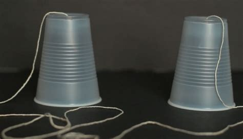 Paper Cup Telephone Craft - diy plastic cup phone crafts for pbs