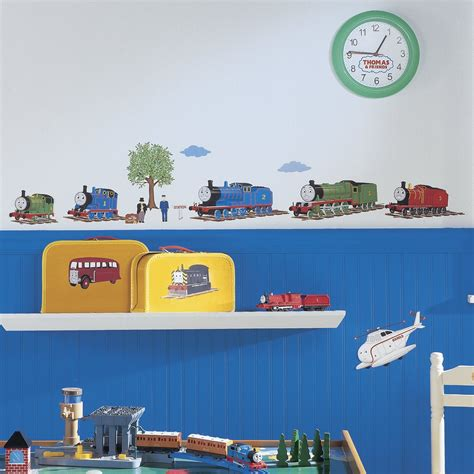 and friends wall stickers the tank engine and friends peel and stick wall decals innovativestencils