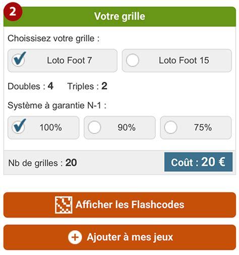 Loto Foot 7 15 Grille Et Pronostic by Aide Pour Utiliser Les Syst 232 Mes R 233 Duits Pour Le Loto Foot