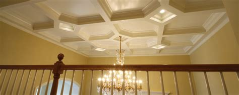 Types Of Ceiling Treatments by Ceiling Treatments Decorative Ceiling Moldings Coffered Ceilings