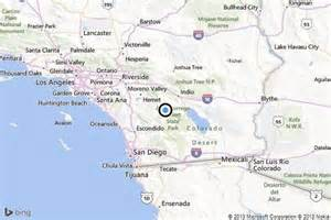 anza california map earthquake 3 1 quake strikes near anza la times