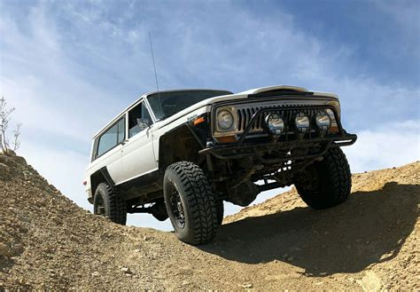 jeep cherokee chief off road vintage 1978 jeep cherokee chief with off road modifications
