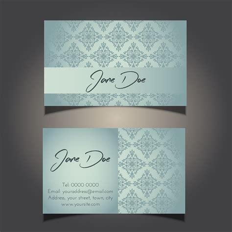 decorative card design decorative business card design 0906 download free