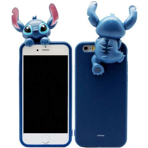 Terbaru 3d Stitch Iphone 6 6s 6g 4 7 Inch Karakter Soft Silikon 25 b 228 sta forros para celulares id 233 erna p 229 fundas para celular fundas para ipod och