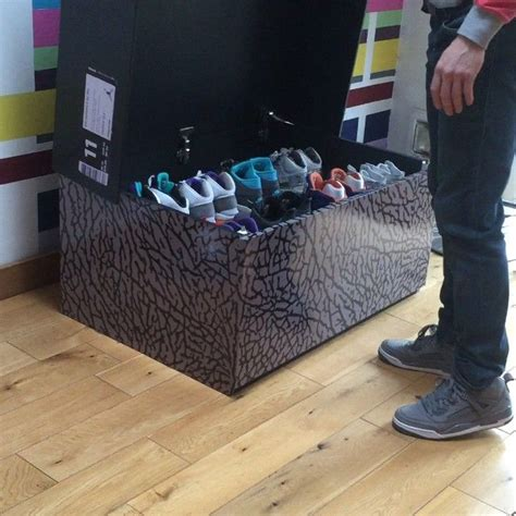 big shoe storage box shoe box storage home ideas more