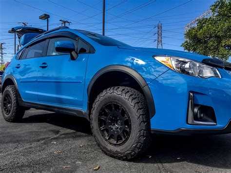 subaru crosstrek lifted subaru crosstrek with anderson design fabrication 2inch