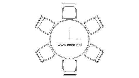 chair templates for autocad round table with six chairs for lunch block in furniture