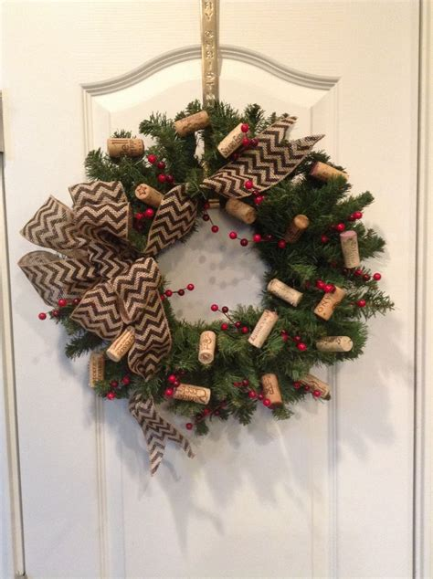 wine cork wreath wreaths wreaths and corks