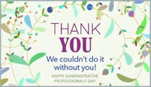 the therapy center happy administrative professionals day