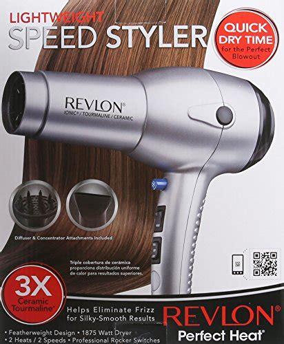 Revlon Hair Dryer Tourmaline Ionic Ceramic revlon 1875w tourmaline lightweight ionic ceramic hair dryer new ebay