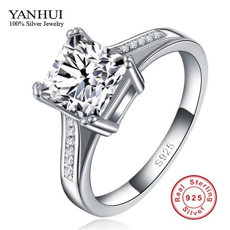 get cheap square engagement ring