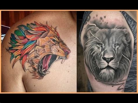 imagenes leones tatto tatuajes de leones youtube