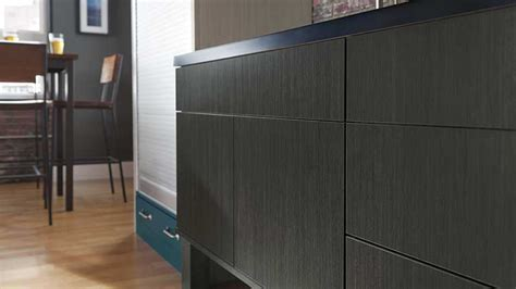 Veneer, Textured & High Gloss Laminate Cabinets   Omega