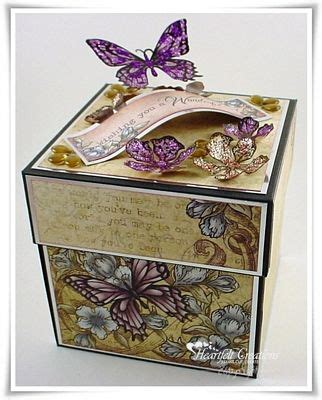 decorate box 32 best images about explosion boxes on gift