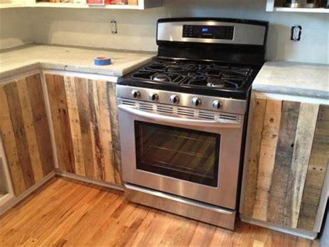Diy Kitchen Cabinet Ideas Pallet Kitchen Of Apartment Pallets Designs