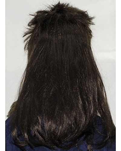 big eared mullet mullet men hair extensions remy indian hair