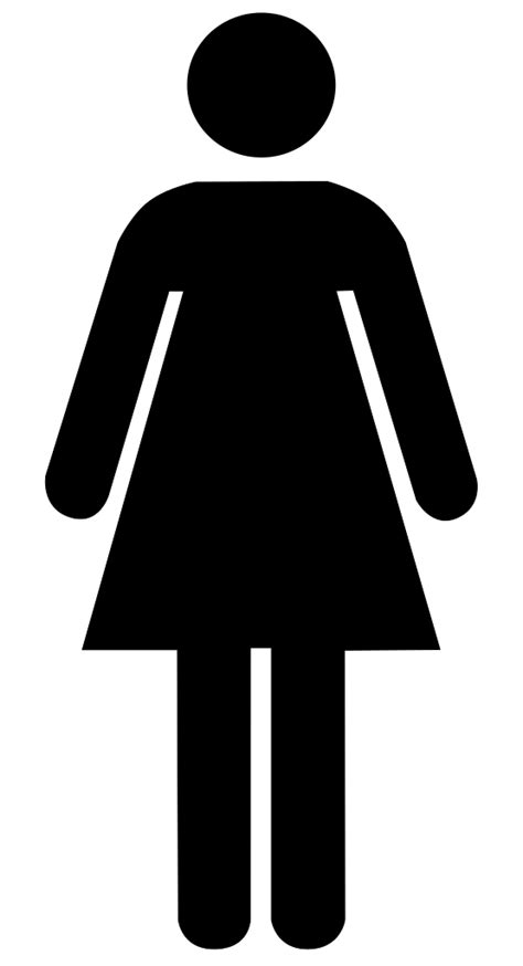 file toilet women svg wikimedia commons