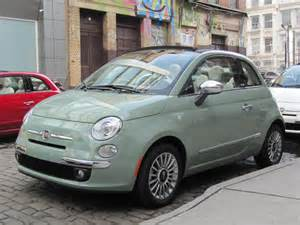 Fiat 500c Green 2012 Fiat 500c Cabrio Drive