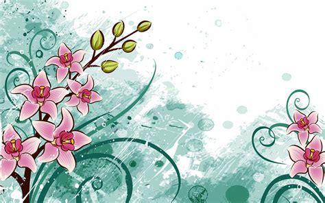 imagenes para fondo de pantalla hd gratis fondo de pantalla abstracto dibujo de flores rosas