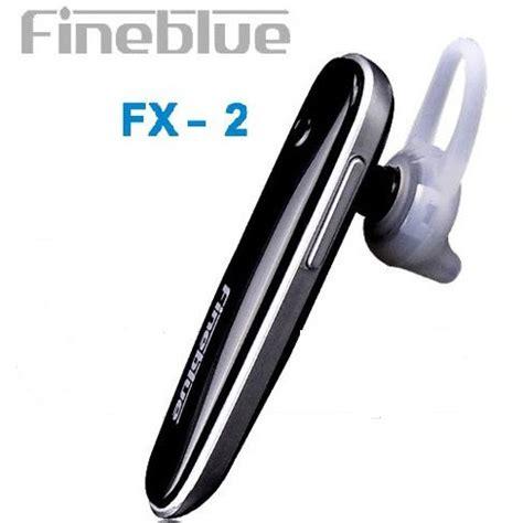 Headset Bluetooth Fineblue fineblue single bluetooth headset fx 2 black