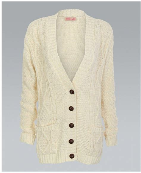 chunky knit cardigan misskrisp chunky cable knit button cardigan