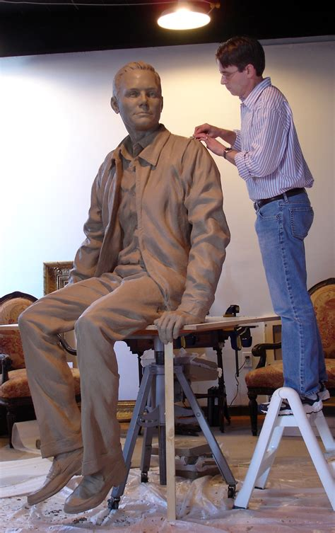 the sculptor neil armstrong sculpture lunar footprints unveiled at purdue