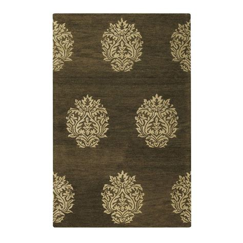 home decorator collection rugs home decorators collection martine brown cream 2 ft x 3 ft area rug 1598500820 the home depot
