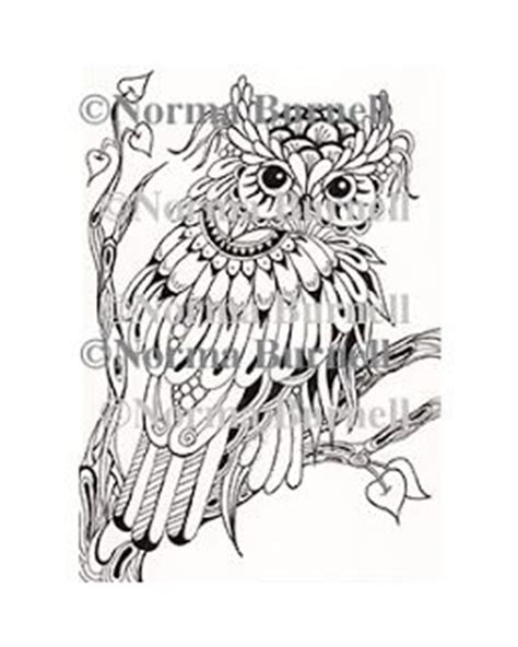 owl rubber sts 250 best images about artist norma j burnell coloring on
