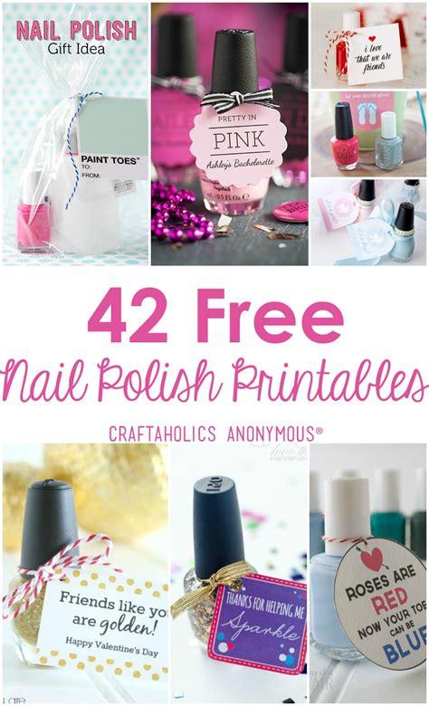printable nail polish gift tags craftaholics anonymous 174 42 nail polish printables