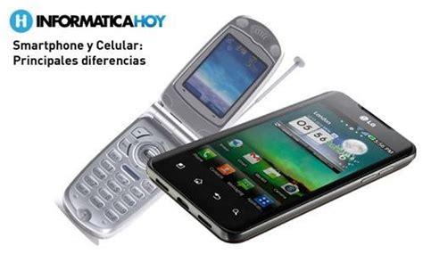 imagenes para celular smartphone diferencias entre un smartphone y un celular