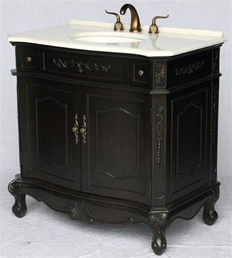 Antique Style Vanity by 36 Inch Bathroom Vanity Antique Style Espresso Color 36