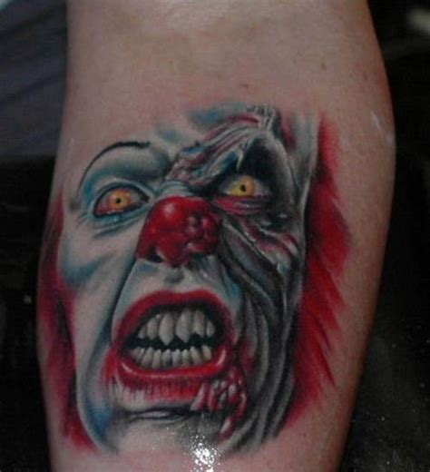 Tattoo Pictures Clown | clown tattoos