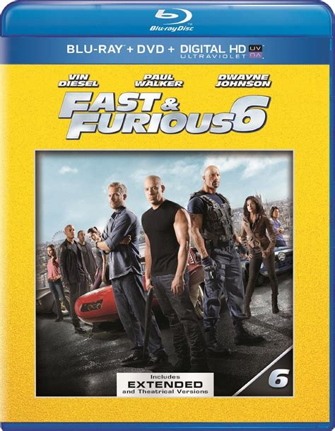 the fate of the furious extended version digital release amazon fast furious 6 extended edition blu ray dvd