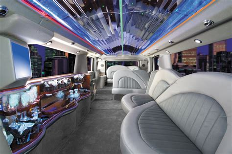 Hummer Limo Interior by Sports Cars Hummer Limousine Interior