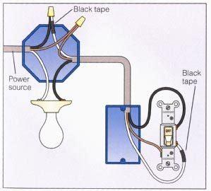 wiring a 2 way switch