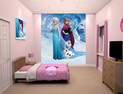 disney wallpaper for bedrooms kids bedroom disney frozen design ideas for age s with