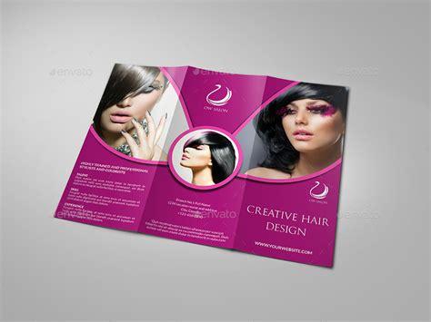 hair salon brochure templates hair stylist salon tri fold brochure vol 2 by owpictures